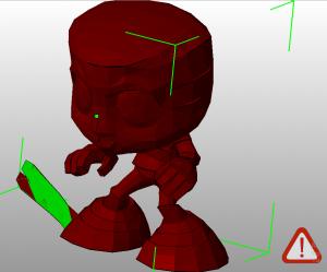 Некачественная 3D модель