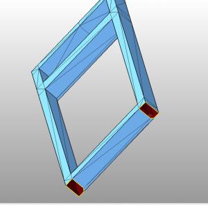 Отсутствие полигонов в 3D модели