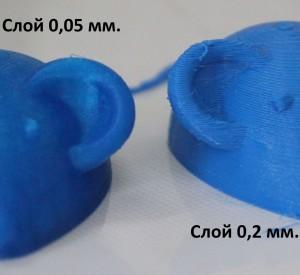 Высота слоя 3D принтера