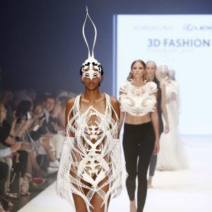 3D-печатное платье Voxelworld