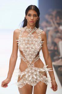 3D-печатное платье Voxelworld3