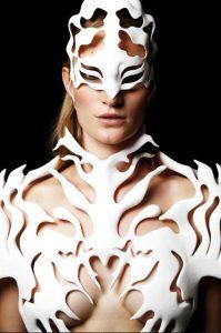 3D-печатное платье Voxelworld7