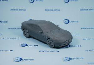3D-печатный макет автомобиля