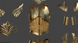 3D-печаная броня10
