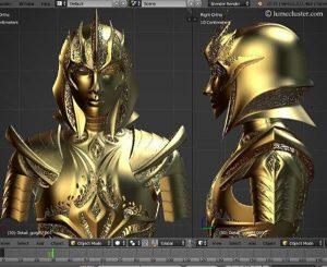 3D-печаная броня6