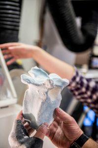 3D печать части скелета мамонта