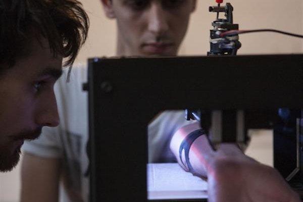 3D принтер - тату машина