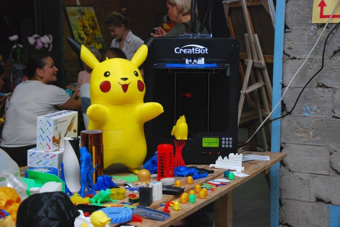 Покемон на 3D принтере