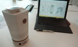 Управление 3D-печатным проектором
