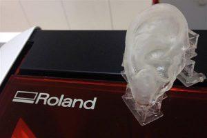Ушной имплантат на 3D принтере