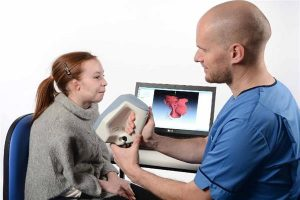 Ушной имплантат на 3д принтере