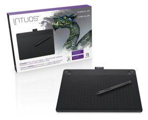 Графический планшет для 3D моделирования Intuos 3D