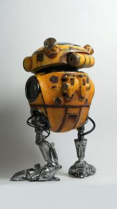 Робот с помощью SLA 3D печати