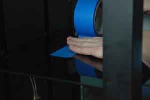 3Д печать на малярном скотче