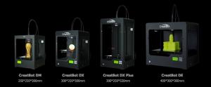 Линейка 3D принтеров КриэйтБот