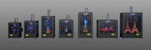 Модельный ряд 3Д-принтеров CreatBot