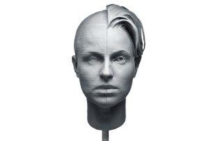 Обработка изделий из скульптурного полимера для 3D печати
