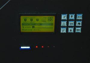 Окончание нагрева 3Д принтера