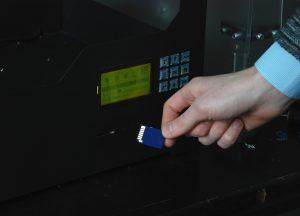 Печать на 3D принтере с флешки