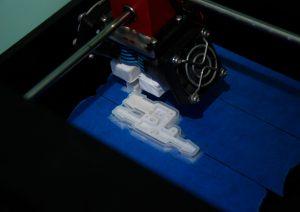 Печать на 3Д принтере с водорастворимой поддержкой