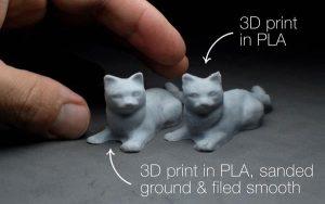 Печать на 3Д принтере скульптурным филаментом