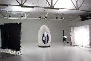 Кабинка для 3D сканирования