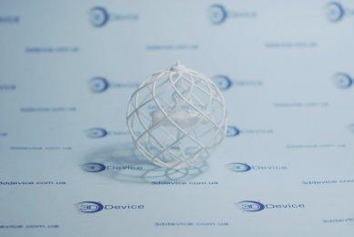 Елочный шарик на 3D принтере