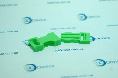 Защелка-трезубец на 3D принтере