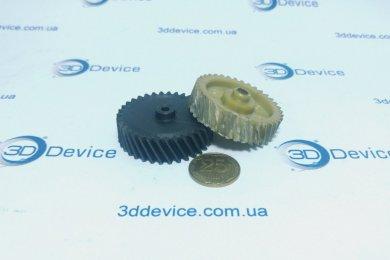 Карбоновая шестерня из пластика на 3D принтере