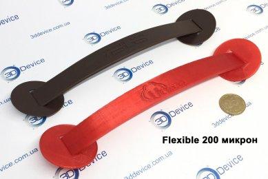 3Д-печать ручки из Flexible 200 микрон