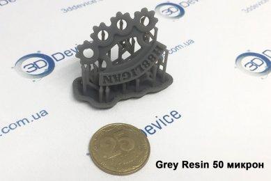 СЛА 3Д-печать из серой смолы