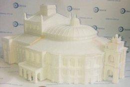 Оперный театр на 3Д принтере