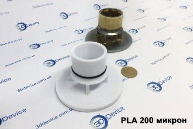 3D печать заглушки из PLA 200 микрон