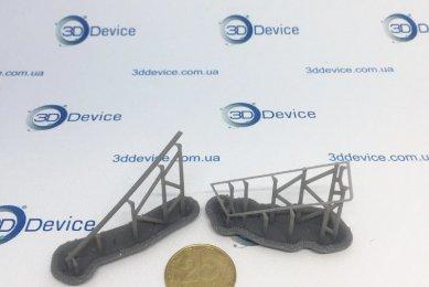 Детали модели машины на Formlabs Form 2
