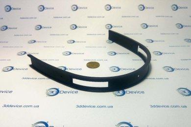 Дужка от наушников, напечатанная на 3D принтере из черного 3D пластика