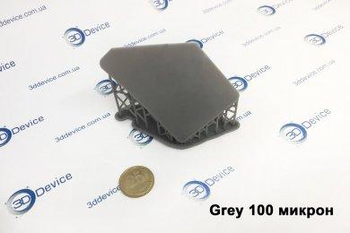 SLA 3D печать из серой смолы