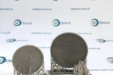 СЛА 3Д печать монеты SLASH+
