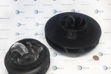 3Д моделирование и печать турбины