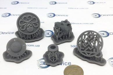 Логотипы на SLA 3Д-принтере
