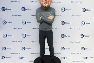 3Д-печать шаржа по фото