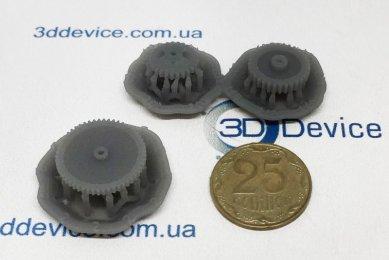 SLA 3D-печать шестерней