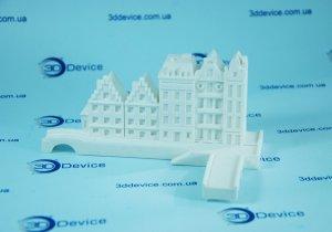 Макетирование архитектуры на 3Д принтере