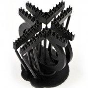 3D печать ювелирных изделий из смолы Formlabs Black Resin