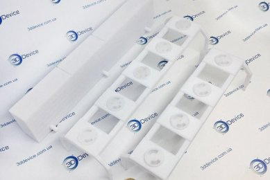 3Д-печать деталей для макета