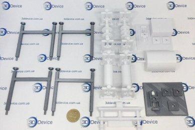 3D печать деталей для макета