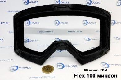 3Д печать резиновой маски