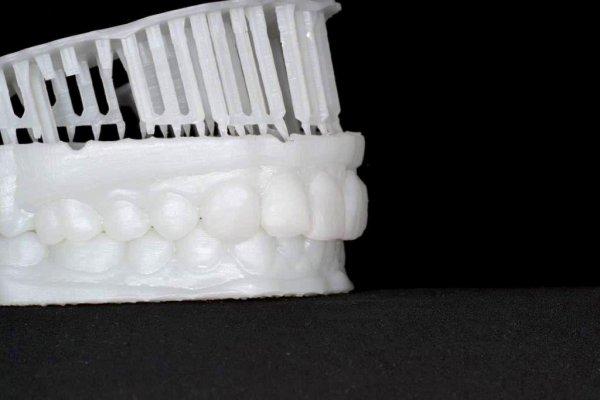 Фотополимерная смола Formlabs White Resin в стоматологии