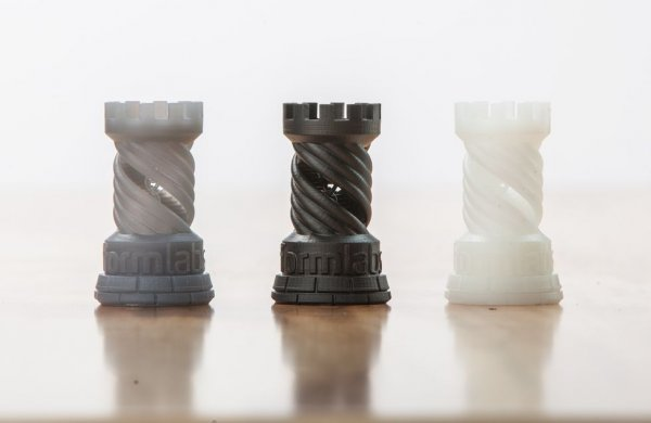 Изделия из смолы Formlabs White Resin