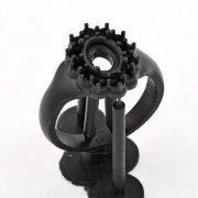 Кольцо из фотополимерной смолы Formlabs Black Resin