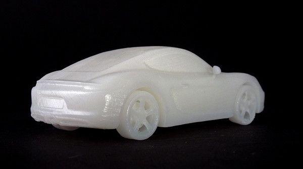 Машинка из смолы Formlabs White Resin